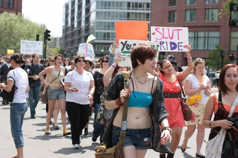SlutWalk Boston 2011