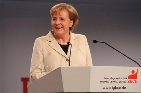Angela Merkel, en 2009