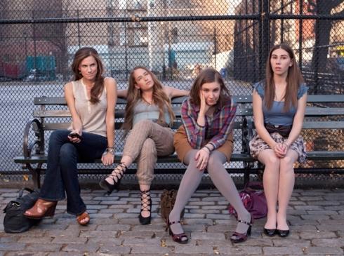 """La série Girls, symbole du """" féminisme pop"""" D.R."""